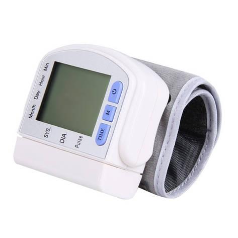 Тонометр цифровой на запястье Automatic Blood Pressure Monitort, фото 2