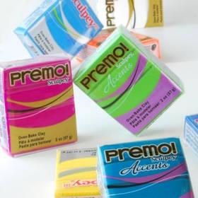 Пластика Sculpey Premo и Premo Accents c эффектами