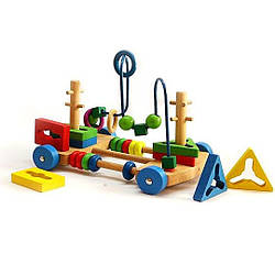 Деревянная игрушка Центр развивающий (MD 1241-2)
