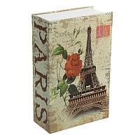 Книга-сейф MK 1849-1 (Monroe) с замком, металл, микс видов, в кульке, 18,5-12-5,5см (Башня)