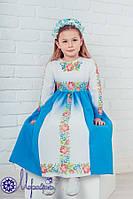 Мережка Платье под вышивку бисером сшитое без рукавов, фото 1