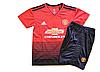 Футбольная форма детская Манчестер Юнайтед 2018-2019 домашняя , фото 2