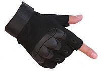 Перчатки без пальцев  штурмовые тактические Viper JHG00377 Черные