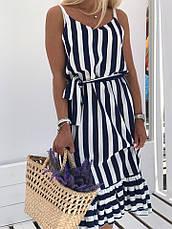 Платье женское летнее в полоску, фото 2