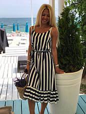 Платье женское летнее в полоску, фото 3