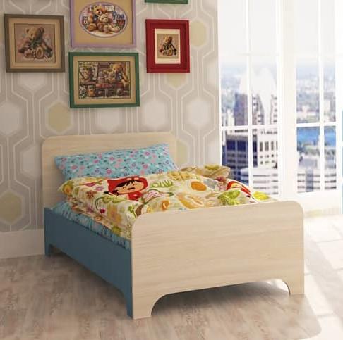 """На фото: детская кроватка """"Немо"""" со спальным местом 160х80"""