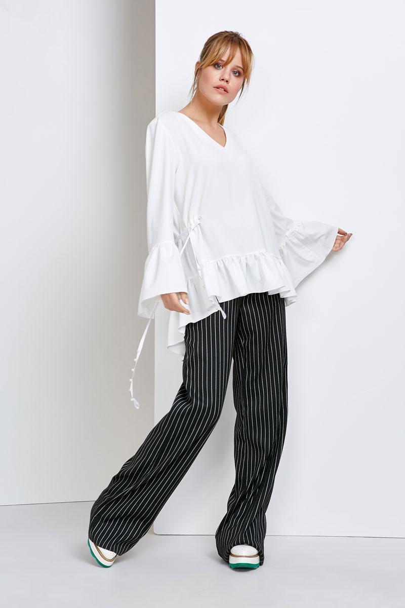 2108 брюки Палаццо, черные (42)