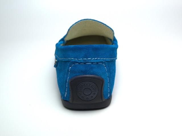 Летние мокасины замшевые сине бирюзовые с перфорацией мужская обувь Rosso Avangard ETHEREAL Cross Tru Summer