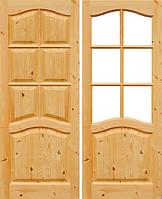 Дверное полотно Ривьера с сучком Нестандарт