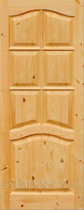 Дверное полотно Ривьера с сучком 2000х600х40 глухое