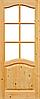 Дверное полотно Ривьера с сучком 2000х800х40 под стекло