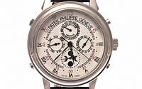 Мужские механические наручные часы Patek Philippe Sky Moon, Silver