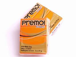 Sculpey Premo Премо (США, Полиформ), 56 г, оранжевый 5033