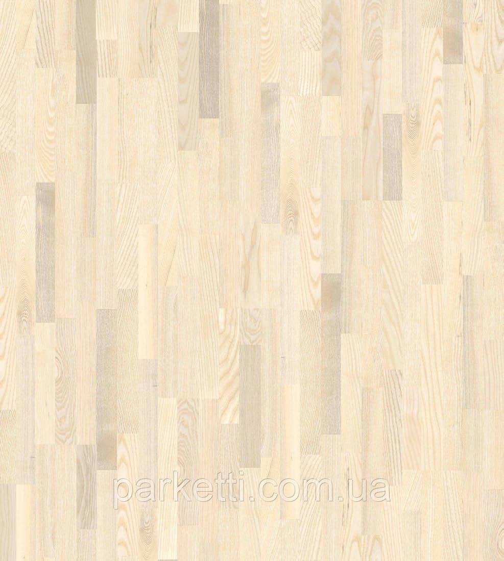 Паркетная доска Grabo Jive Ясень Отбеленный Trend 3-пол, фото 1