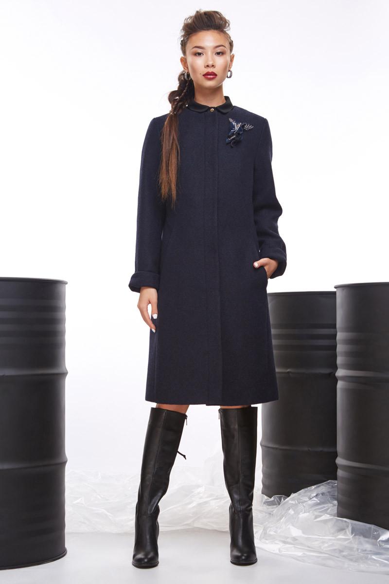2072 пальто Рединг, темно-синий (42)