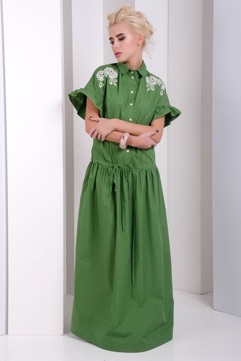 1999 платье Флорентина, зеленый (42-44)