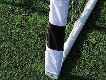 Металлические футбольные ворота Hudora Stadium 300 х 200 см, фото 3