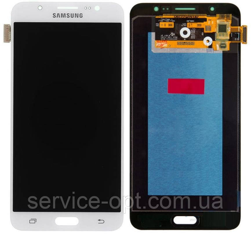 Дисплей Samsung J710F, J710H Galaxy J7 2016 OLED + сенсор белый