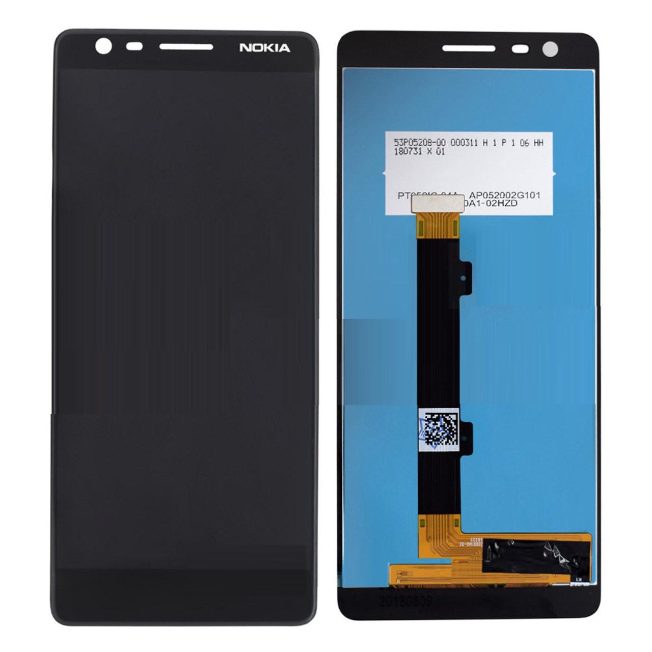 Дисплей Nokia 3.1 + сенсор чёрный