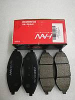 Колодки тормозные передние Авео Т200/250/255, HS04-DW016, 94566892