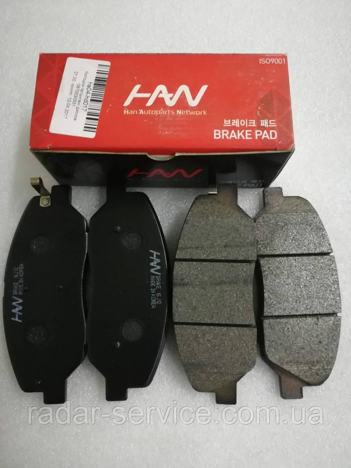 Колодки тормозные передние киа Соренто 2, KIA Sorento 2009-12 XM, HS04-HD017, 581012pa70
