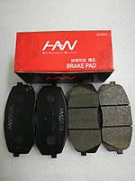 Колодки тормозные передние киа Спортейдж 3, KIA Sportage 2010-15 SL, HS04-KA025, 581012sa70, фото 1