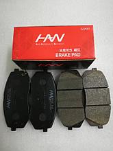 Колодки тормозные передние киа Спортейдж 3, KIA Sportage 2010-15 SL, HS04-KA025, 581012sa70