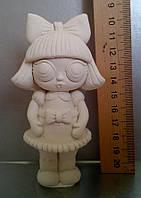 Гипсовая фигурка для раскрашивания статуэтка. Гіпсова фігурка для розмальовування. Кукла 2