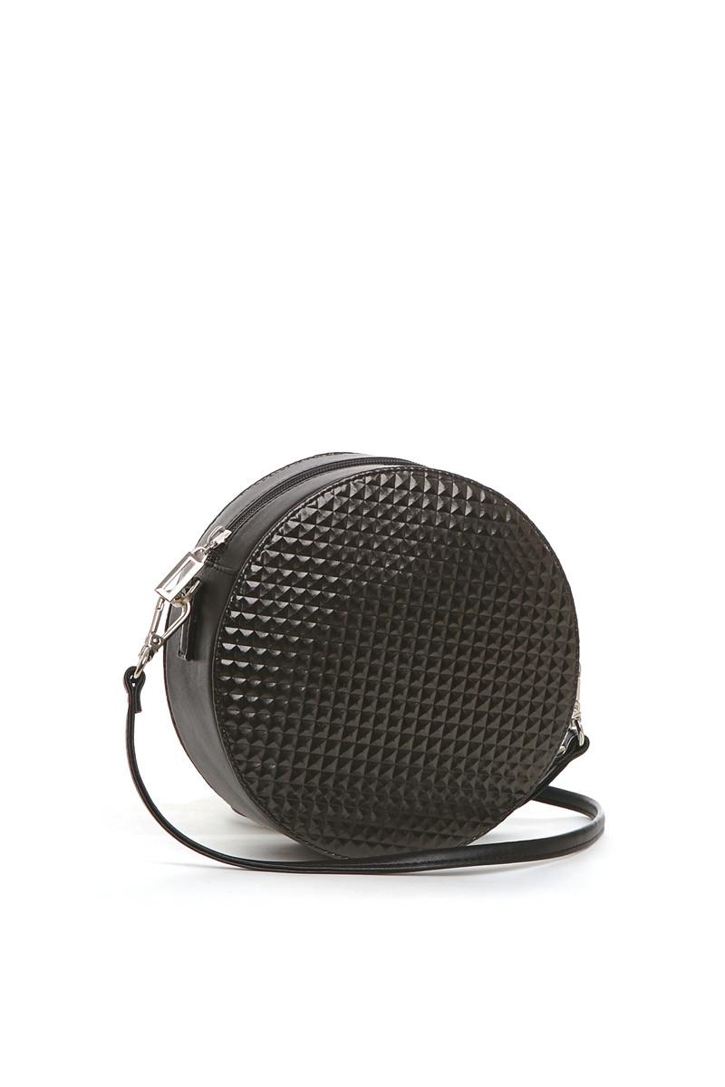 V-450 сумка Плита Круг, черный (one size)