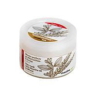 Маска для волос с пшеницей и маслом хиосской мастикой.