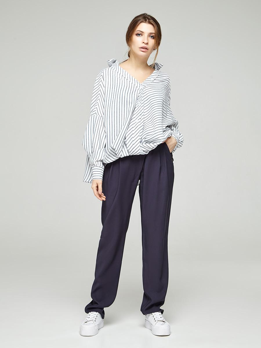 2316  брюки Ледис, синий (XS)