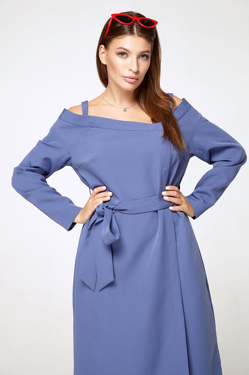2310 платье Ноттэ, джинс (S)