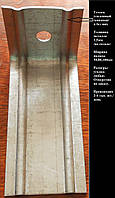 Фасадный кронштейн (опорный столик) оцинкованный L-образный 50х150- 50х1,5