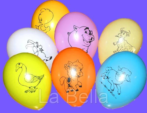 Воздушные шары Звери