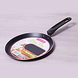 Сковорода млинна Kamille 22см з антипригарним покриттям, фото 4