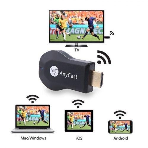 Медиаплеер Miracast AnyCast M9 Plus со встроенным Wi-Fi модулем