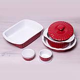 Набор керамической посуды Kamille для запекания 8 предметов, фото 2