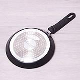 Сковорода блинная Kamille 20см с мраморным покрытием, фото 4