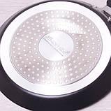 Сковорода блинная Kamille 20см с мраморным покрытием, фото 5