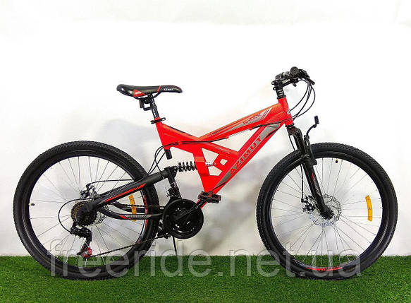 Двухподвесный Велосипед Azimut Shock 26 D, фото 2