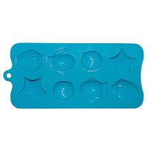 Форма Kamille силиконовая для льда 22*10*1.5см