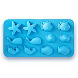 Форма Kamille силиконовая для льда 22.5*12*1.5см, фото 3