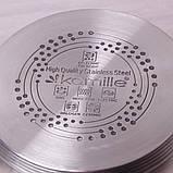 Набір посуду Kamille з нержавіючої сталі 8 предметів, фото 5