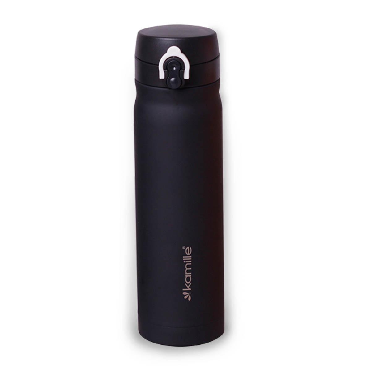 Термос-бутылка Kamille 500мл из нержавеющей стали