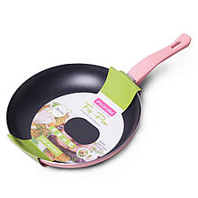 Сковорода Kamille 28см с антипригарным покрытием без крышки