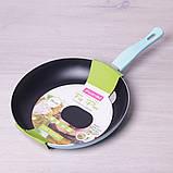 Сковорода Kamille 28см с антипригарным покрытием без крышки, фото 2