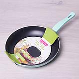 Сковорода Kamille 28см с антипригарным покрытием без крышки, фото 4