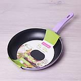 Сковорода Kamille 28см с антипригарным покрытием без крышки, фото 7