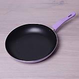 Сковорода Kamille 28см с антипригарным покрытием без крышки, фото 8