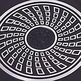 Сковорода-гриль Kamille 32*24*7см двухсторонняя с антипригарным покрытием, фото 8